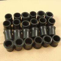 24PCS Black SOFTY Rubber Tobacco smoking Pipe Tip Grips