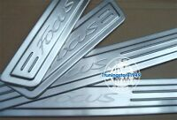 Door sill scuff plate Guards Sills For ford Focus 2012 2013 12 13