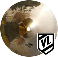 "Wuhan  8"" Splash Cymbal for your drum set - Traditional cymbals WUSP08  - NEW"