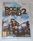 Rock Band 2 Two - Nintendo Wii - NUEVO Y PRECINTADO