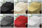 250 Thread Count 100% Egyptian Cotton Plain Dyed Duvet Covers All Sizes 6 Colors
