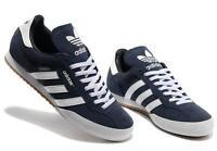 Adidas Originals Mens Samba Super Suede Size 7-12 Trainers Shoes Casual Blue