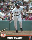 # WADE BOGGS 8x10 ACTION PHOTO Fenway Park BOSTON RED SOX Baseball Hall of Fame