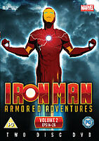 Iron Man Armoured Adventures - Volume 2 - DVD - Brand New & Sealed