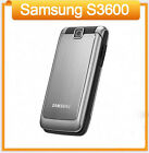 Original Samsung S3600 (Unlocked) Flip Mobile Phones GSM Bluetooth 1.3 MP Camera