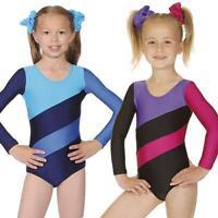 Roch Valley Girl's Gymnastic - Dance Leotard Hop Long sleeve leotard