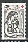 TP NEUF FRANCE 1961 CROIX ROUGE YVERT 1323