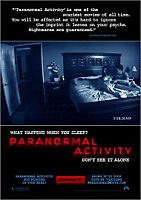 Paranormal Activity (DVD, 2010)