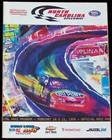 1999 DURA LUBE - BIG K 500 NASCAR WINSTON CUP PROGRAM - JEFF GORDON ON COVER