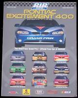 1999 PONTIAC EXCITMENT 500 NASCAR WINSTON CUP PROGRAM - RICHMOND