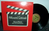 PERCY FAITH Hollywood Serenade LP Record Columbia DS527 Easy Listening VG+