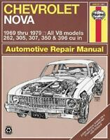 Haynes Chevrolet Nova Owners Workshop Manual, 1969-1979 No. 241,Vol. 8 by...