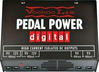 NEW VOODOO LAB PEDAL POWER DIGITAL PEDAL POWER SUPPLY FREE SHIPPING