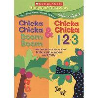 Chicka Chicka Boom Boom/Chicka Chicka 1 2 3 (DVD, 2009, 2-Disc Set)