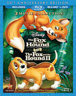 The Fox and the Hound/Fox and the Hound II (Blu-ray/DVD, 2011, 3-Disc Set, 30th Anniversary Edition)