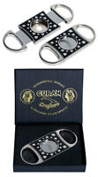 CUBAN CRAFTERS PERFECT CIGAR CUTTER - POKER SILVER - LIFETIME GUARANTEED! NEW!!!