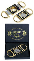 CUBAN CRAFTERS PERFECT CIGAR CUTTER - POKER GOLD - LIFETIME GUARANTEED! NEW!!!