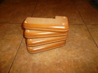 4x  Replacement Wooden Furniture Feet / Sofa legs,footstool,bed,BRAND NEW