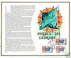 CEF 1975 TIMBRES CONSEIL DE L'EUROPE