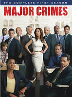 Major Crimes: The Complete First Season (DVD, 2013, 3-Disc Set) Free Shipping