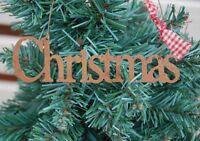East of India Christmas Tree Decoration Rusty Christmas Decoration