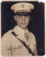 ALEPPO MILITARY MAN IN UNIFORM VINTAGE 1920s AUTOGRAPH SIGNED WALTER DOLE PHOTO