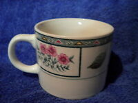 MAJESTICWARE CHELSEA SQUARE CUPS MUGS SET OF 4 LOVELY