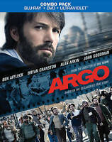 Argo (Blu-ray/DVD, 2013, 2-Disc Set, Includes Digital Copy UltraViolet) NEW