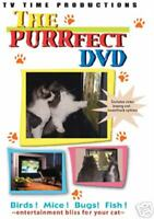 The PURRfect DVD, Brand new cat video, for Cats, Free Shipping