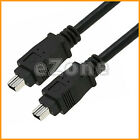 12Ft High Performance 4pin to 4 pin IEEE 1394a Firewire 400 iLink Cable