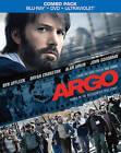 Argo (Blu-ray/DVD, 2013, Canadian) 2 Disc Combo Movie Ben Affleck Bryan Cranston