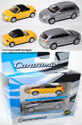 Cararama 172032 Audi TT Roadster, Mj. 99 gelb, Audi Q7, Mj. 2005, silber, 1:72
