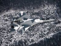 H2431 Military Russian Aviation Fighter Plane Jet Aircraft Wall Print POSTER UK