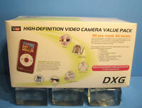 NEW DXG-567V COMPLETE HD VIDEO CAMERA BUNDLE CAMERA+