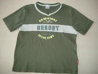 Liegelind Pocolino olivgrünes T-Shirt Adventure Gr. 140