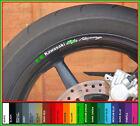 Kawasaki Ninja Racing Wheel Rim Decals Stickers - zx6r zx9r zx10r 250r zx7r zx4r