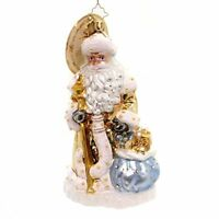 Christopher Radko Father Frost Limited Edition Santa Claus Christmas Ornament