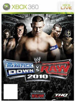 WWE Smackdown vs Raw 2010 (Xbox 360), Excellent Xbox 360, Xbox 360 Video Games