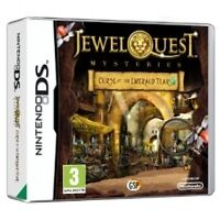 Jewel Quest Mysteries: Curse of the Emerald Tear, Excellent Nintendo DS, Nintend