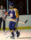 Autographed Los Angeles Kings Daryl Evans 8x10 Photo