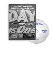 WWII Europe, D-Day World War II Germany, Newsreels DVD - A133-134