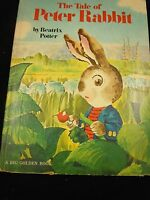 The Tale of Peter Rabbit by Beatrix Potter A Big Golden Book