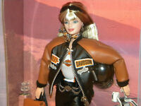 Harley Davidson Barbie Doll #4 NRFB 1999 Collector Edition #25637