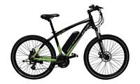 "Byocycle IBEX 21 Speed Electric Mountain Bike Bicycle 26"" Wheels Black"