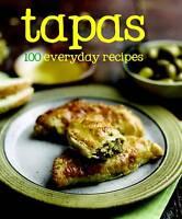 100 Recipes Tapas (100 Everyday Recipes),  | Hardcover Book | Good | 97814454428