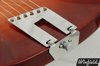 LEFTY trapeze tailpiece conversion kit made for Rickenbacker 330/360/620/etc.