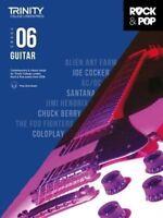 Trinity College London Rock & Pop 2018 Guitar Grade 6 (Sheet music) 085736653X