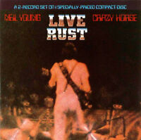 NEIL YOUNG & CRAZY HORSE Live Rust CD BRAND NEW