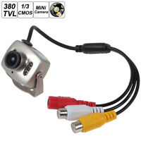 1/3 Inch CMOS Mini Wired CCTV Security Color Night Vision Infrared  Video Camera