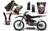 Dirt Bike Graphic Kit Decal Sticker Wrap For Yamaha YZ125 YZ250 93-95 BONES BLK